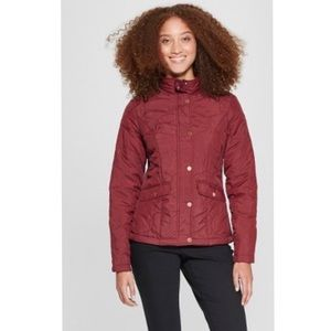A NEW DAY Quilted Jacket Burgundy